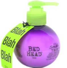 Tigi Bed Head Mini Small Talk 3-in-1 Hair Styling Thickifier (125ml/4.2 Fl.oz.) * This is an Amazon Affiliate link. Check out this great product.
