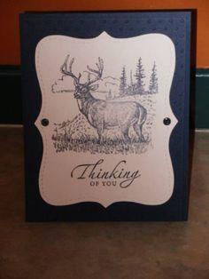 JulyCC1001 Noble Deer by muzbysmom by muzbysmom - Cards and Paper Crafts at Splitcoaststampers