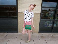 wearing polka-dots ♡