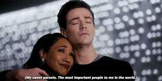 Am I crying? Barry Iris, Flash Superhero, Iris West Allen, Flashing Gif, Flash Animation, The Cw Shows, Funny Disney Memes, Fastest Man, Supergirl And Flash