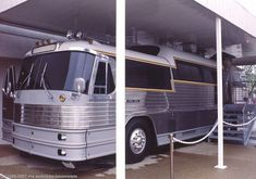 Elvis Tour Bus - Graceland - I have been on this bus - Memphis, Tn - 1994