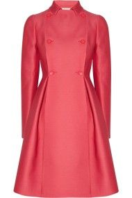 Valentino                                  Wool and silk-radzimir coat                              Was %C2%A32,353.18                          Now %C2%A31,176.59