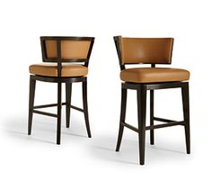 Bar & Counter Stools - A. Rudin - available through Minor Details Interior Design