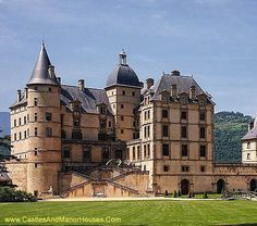 Château of Vizille, Vizille, Isere, Rhone-Alpes, France..... http://www.castlesandmanorhouses.com/photos.htm .... The Château de Vizille, near Grenoble, is one of the most prestigious and important castles of the Dauphiné.