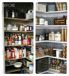 pantry organization ideas | Kitchen Organization Tips