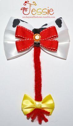Arco del pelo de Jessie por MickeyWaffles en Etsy