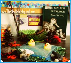 Joyful Socks Mom: FI♥AR: Make Way For Ducklings