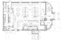 Pin by steve medina on bar layout Restaurant Floor Plan, Restaurant Bar, Fixer Upper, Layout Design, Kitchen Design, Floor Plans, House Design, Flooring, How To Plan
