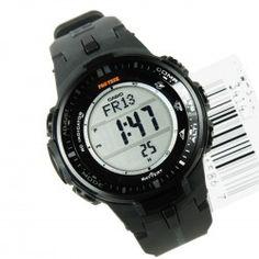 6a720e3bb5ab G Shock Black Digital Watch PRW-3000-1DR G Shock Negro