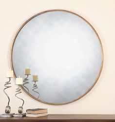 oversize mirror for living room or bedroom