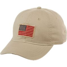 Image for Academy Sports + Outdoors™ Men's Flag Distressed Baseball Hat from Academy