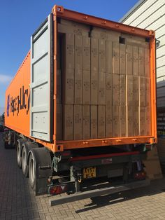 Second container arrived in less than 6 days phew hard work but not for the HEROES