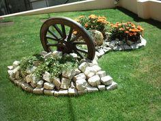 Paisagismo para valorizar a entrada da casa - Jardins - Diy Garden Decor, Garden Art, Garden Decorations, Paradise Garden, Home Vegetable Garden, Garden Maintenance, Front Yard Landscaping, Landscaping Ideas, Garden Projects