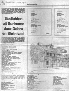 Dit is het hele artikel met de gedichten van Dobru en Shrinivasi, NRC-Handelsblad 25 XI 1975.