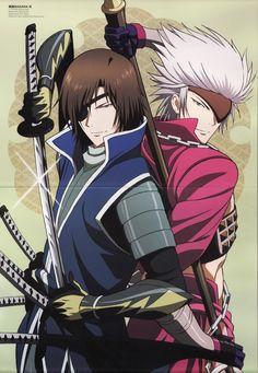 Sengoku Basara masamune and chosukabe