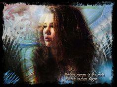 Fantasy woman in the shade by ashraf hashem