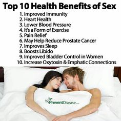 health benefits of sex for females