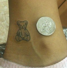 small teddy bear tattoos - Google Search