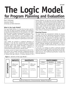 77 Awesome Image Of Logic Model Flow Chart Template : 77 Awesome Image Of Logic Model Flow Chart Template Program Management, Change Management, Business Management, Project Management, Business Planning, Theory Of Change, Program Evaluation, University Of Idaho, Flow Chart Template