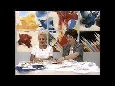 Nella Davini Pintura em Tecido Rosas - YouTube