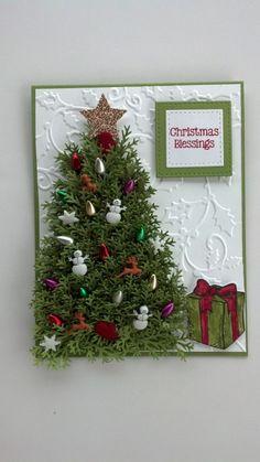 Splitcoaststampers FOOGallery - FF16evergreentree Christmas