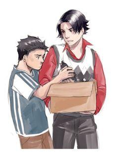 Tim and Damian