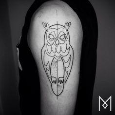 #owl #moganji #singleline by moganji