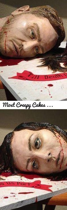 Most Creepy Cakes That Are Eerily Realistic | Scary Cakes Ever Made... Tags: most gruesome, creepy and revolting cakes, Creepy Cakes, Horrifying Cakes That Are Too Scary, Artist Makes Terrifying Cakes, Bloody, Gory, and Delectably Evil Horror Cake, realistic food cakes, human body cakes, creepy birthday cakes, realistic baby cakes, scariest cake ever, realistic animal cakes, Scary Halloween Cakes, spooky birthday cakes, Epic Cake Failures, weird cakes, funny cakes, crepe cakes, Funny Club…
