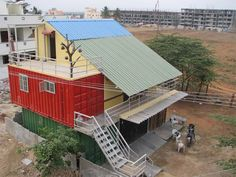 Kameshwar Rao container solutions shipping container homes india
