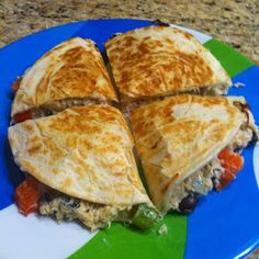 Niki Cooks for Interstitial Cystitis: Chicken Quesadillas