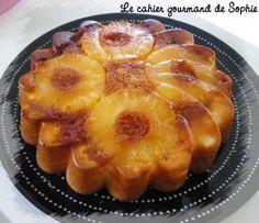 recette Gâteau moelleux à l'ananas caramélisé