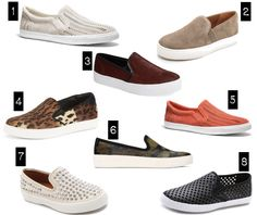 our favorite slip-on sneakers for spring