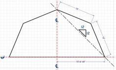 Free Gambrel Shed Plans 10X12 | Gambrel Math - Building & Construction - DIY Chatroom - DIY Home ...