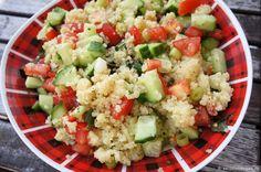 Sommerlicher Salat mit Couscous