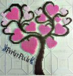Tree of Hearts by PerlerPixie
