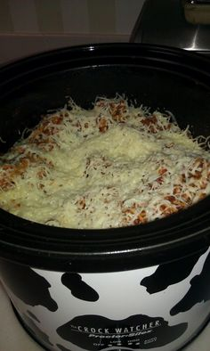 Crockpot Spaghetti - want to try this... there is a modification for working days vs stay at home days