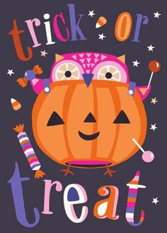 Trick or Treat | Victoria Johnson via print & pattern