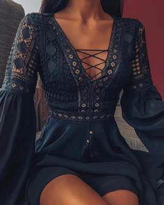 Funny Dresses, Cute Dresses, Vintage Dresses, Beautiful Dresses, Vintage Lace, Maxi Dresses, Vintage Outfits, Vintage Woman, 1950s Dresses