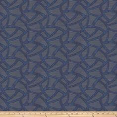 Fabricut Jacquard Shinedown Blue from @fabricdotcom  This medium weight Jacquard…
