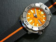 What strap/bracelet variations do you have on your Seiko Monster? - Page 2 Seiko Marinemaster, Seiko Monster, Seiko Diver, Seiko Watches, Bulova, Omega Watch, Monsters, Japanese, Awesome