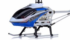 """Syma S301G Metal RC helicopter 18"""" 3 Channel RTF + 27 mhz Transmitter with GYRO (Blue)"""