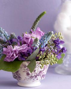 lavender purple toile transferware - photo #33