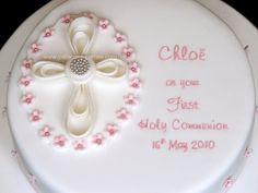 sweet communion cake design