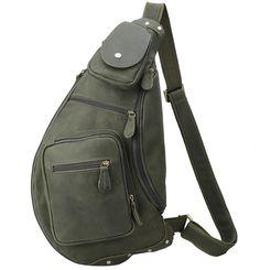USA Unisex Women Men Casual Bag Sling Chest Pack Canvas Sports Crossbody Handbag