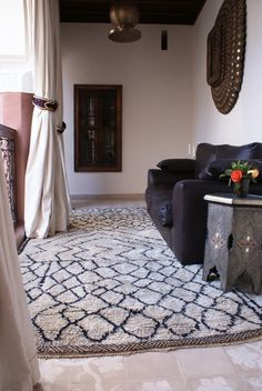 A house in Morocco with traditional Moroccan decor.