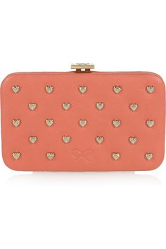 Anya Hindmarch studded leather cardholder from #net-a-porter