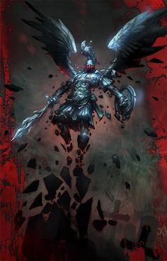 Angel of stone by michalivan.deviantart.com join us http://pinterest.com/koztar/