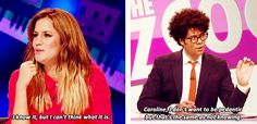 Richard Ayoade, ladies and gentlemen. - I don't know what show this is (and I'm ok with that), he was on The I.T. Crowd among other things