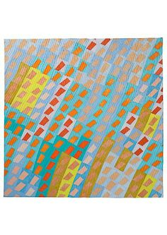 Ursula König Art Quilts I really appreciate the sense of movement in this piece