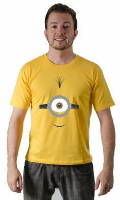 Camiseta Minions Rosto por apenas R$37.50
